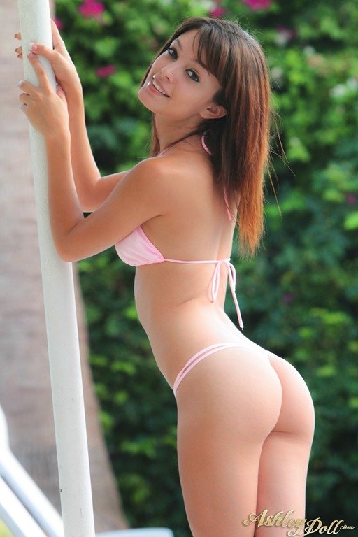 Here Ashley doll nude bikini has surprised